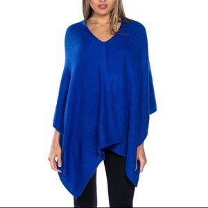 Sweaters - KERISMA BLUE PONCHO
